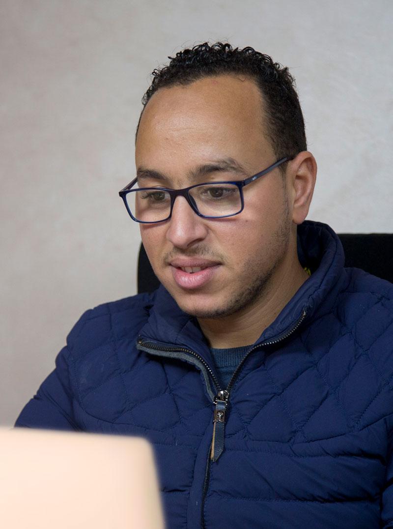 HICHAM LAMINE Vice-président