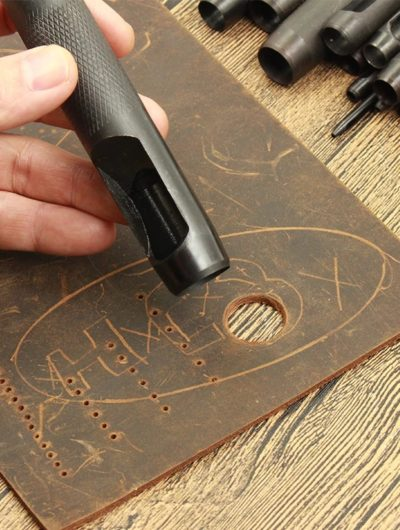 Outiles Maroquineries accessoires EMPORTE-PIÈCES A FRAPPER ROND CUIR